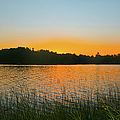 Wilderness Point Sunset Panorama by Gary Eason
