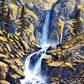 Wilderness Waterfall by Frank Wilson