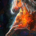 Wildfire Fire Horse by Sherry Shipley