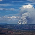 Wildfire Flares Up In Northern Az by Ron Chilston
