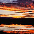 Wildfire Sunset Reflection Image 28 by James BO  Insogna