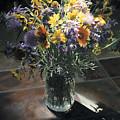 Wildflower Bouquet II by Rebecca Zook
