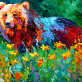 Wildflower Grizz II by Marion Rose