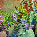 Wildflowers And Rocks by Kristin Elmquist