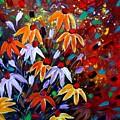 Wildflowers At Sunset by Luiza Vizoli