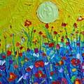 Wildflowers Meadow Sunrise by Ana Maria Edulescu