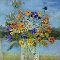 Wildflowers On The Lake by Kathleen Hoekstra