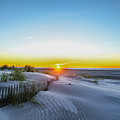 Wildwood Crest Dune Sunrise by Bill Cannon