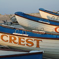Wildwood Crest Nj Lifeboats by Anna Maria Virzi