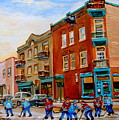 Wilensky's Street Hockey Game by Carole Spandau