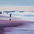 Will Rogers Beach by Romy Muirhead