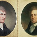 William Clark 1770-1838 And Meriwether by Everett