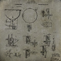 William F Ludwig Kettle Drum Patent by Paulette B Wright