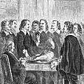 William Harvey Explaining Blood by Science Source