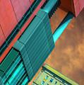 William Jones College And Hilton Chicago Dsc6977 by Raymond Kunst