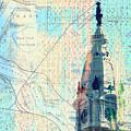 William Penn City Hall V2 by Brandi Fitzgerald