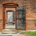 Williamsburg Public Gaol by Susie Weaver
