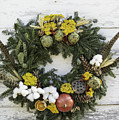 Williamsburg Wreath 09b by Teresa Mucha