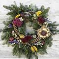 Williamsburg Wreath 10b by Teresa Mucha