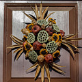Williamsburg Wreath 35 by Teresa Mucha