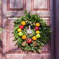 Williamsburg Wreath 53 by Teresa Mucha