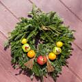 Williamsburg Wreath 54 by Teresa Mucha