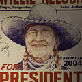 Willie For President by Bob Hislop