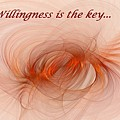 Willingness Is The Key by Doug Morgan