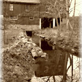 Williston Mill - Sepia by Brian Wallace