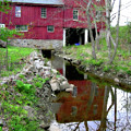 Williston Mill Reflections by Brian Wallace
