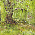 Willow Swing by Susan Hanna