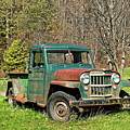 Willys Jeep Pickup Truck by Steve Harrington