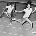 Wilma Rudolph 1940-1994 At The Finish by Everett