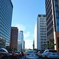 Wilshire Blvd  - West La Traffic by Matt Quest