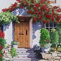 Wiltshire Cottage by Constance Drescher