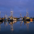 Winchester Bay Reflections by Robert Potts