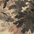Wind In The Lotus by Zhang Daqian