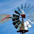 Wind Mill Pump In Usa 2 by Jeelan Clark