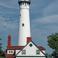 Wind Point Lighthouse by Enzwell Designs