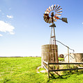 Wind Powered Farming Station by Jorgo Photography - Wall Art Gallery