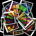 Wind Spinner Collage by Cathy Lindsey