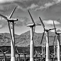 Wind Turbines Palm Springs by William Dey