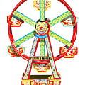 Wind-up Ferris Wheel by Glenda Zuckerman