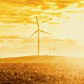 Windfarm Sunset by Jorgo Photography - Wall Art Gallery