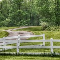 6006 - Winding Path And White Fences by Sheryl Sutter