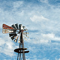 Windmill And Clouds by David Arment