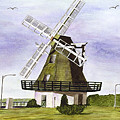 Windmill At City Beach by Mary Gaines