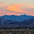 Windmill Desert Sunset by Royal Tyler