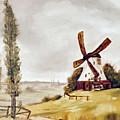 Windmill  by Donald Paczynski
