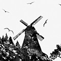 Windmill by Erzebet S